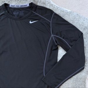 Nike Pro Combat Fitted LS Shirt